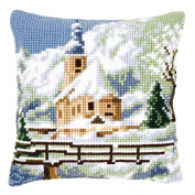 Vervaco Alpine Scene 2 Cushion Cross Stitch Kit