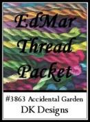 Accidental Garden - DK Designs EdMar thread pkt #3863