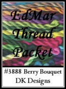 Berry Bouquet - DK Designs EdMar thread pkt #3888