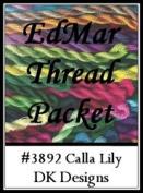 Calla Lily - DK Designs EdMar thread pkt #3892