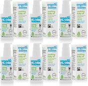 (6 PACK) - Green People - Soothing Baby Oil Scent Free | 100ml | 6 PACK BUNDLE