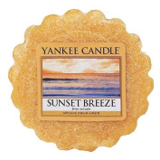 Yankee candle Sunset Breeze Wax Tart Melt, Yellow