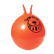 Retro Space Hopper New Adults Kids Large 60cm Sit On Outdoor Toy & Foot Pump