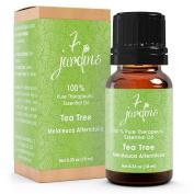 Premium Tea Tree (Australian) 100% Pure & Natural Therapeutic Grade Essential Oil. 10 ml Melaleuca - Anti Viral & Anti Bacterial - Effective Against Cuts, Dandruff and Acne - By 7 Jardins