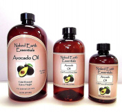 100% Extra Virgin Avocado Oil Unrefined Naked Earth Essentials