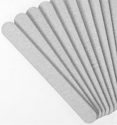 Zebra Nail Files, Professional Quality Emery Board 100/180 Grit Pack of 100