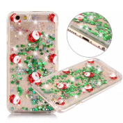 UCLL Iphone 7 Case, Iphone 7 Liquid Case, Christmas Design Case for Iphone 7 with a Screen Protector