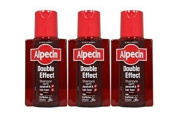 3 X Alpecin Double Effect Shampoo by Dr Wolff