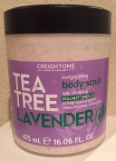 Creightons Tea Tree Lavender Invigorating Body Scrub, 470ml