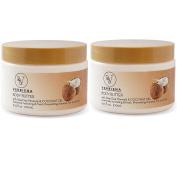 2 Pack Dead Sea Salt & Lavender Essential Oil Body Scrub With Dead Sea Salt Minerals