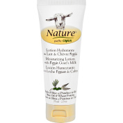 2 Packs of Nature By Canus Lotion - Goats Milk - Nature - Olive Oil Wht Prot - 70ml