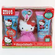 Hello Kitty Soap & Scrub Set