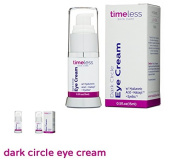 "Timeless Skin Care ""Dark Circle Eye Cream"" with Hyaluronic Acid. Hydrate,Lighten & Firm.15 ml"