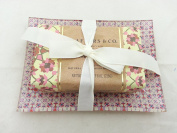 Crafters & Co - Pomegranate Scented Bar Soap 240ml with Decorative Dish