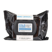 Duke Cannon Cold Shower Cooling Field Towels - Cool Mint