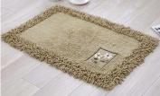 Mat rectangle household mats kitchen mats Watergate mat bathroom mats -5080cm j