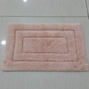 Cotton water-absorbing mats door mats anti-slip mats bathroom Bathroom mat -4060cm A