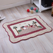 Cotton mats anti-skid living room floor mats bathroom mats -5070cm h