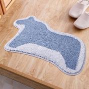 Door mats door mats living room kitchen rugs bedroom water-absorbing mats bathroom mats -5080cm
