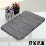 Slow rebound memory foam mats bathroom rug mat kitchen absorbent bath mat door mat -4060cm w
