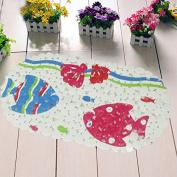 Non-slip bath mat shower mat bath mat toilet bathroom mats -4060cm Stone fish