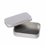 Home Hinge Top Tin Containers Metal Jewellery Box Small Iron Jewellery Box Earring Ring Organiser Storage Box