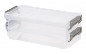 IRIS Layered Latch Box Set, Clear