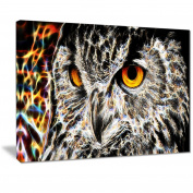 Digital Art PT2420-40-30 A Real Hoot Owl Large Animal Wall Art