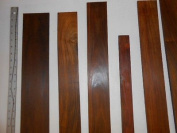 0.09sqm of sanded cocobolo veneer, 100% heartwood 0.8cm thick nice