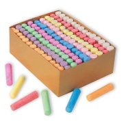 S & S Worldwide Colour Splash!® Giant Box of Sidewalk Chalk (Box of 126) by Unknown