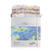 Marco Raffine Fine 72 Colours Art Drawing Pencil 7100-72CB Set Non-toxic ASTM Wooden Writing Painting Artist Sketching Craft Doodling Designs and Creativity Colourful Blessings Cards