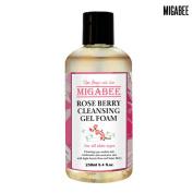 [MIGABEE] Rose Berry Cleansing Gel Foam 250ml, 100% Natural Ingredient Botanical Skin Care, Mild Cleansing for Sensitive Skin