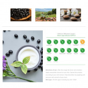 Inbello Black Bean Hidratante Cream 50ml, Natural Face Cream for All Skin Types Including Dry Skin