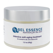 Bel Essence All-Natural Intensive Anti-Ageing Cream for Oily Skin with Calendula, Rosehip and Sunflower Oils, 45ml