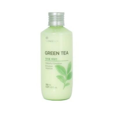 The Face Shop Green Tea Waterfull Emulsion 150ml