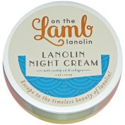 On the Lamb Lanolin Night Cream with Placenta, Shea Butter, Rosehip Oil, and Korean Ginseng