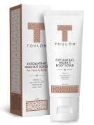 Exfoliating Scrub Face and Body; Walnut Facial Exfoliator. Great Exfoliant for Women or Men. Free Gift / No Risk