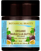 MARACUJA OIL BUTTER ORGANIC 100 % Natural / VIRGIN UNREFINED RAW / 100% PURE BOTANICALS. 4 Fl.oz.- 120 ml. For Skin, Hair and Nail Care.