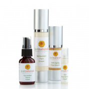 Just Naturals Organic Face Care Kit with 100% Pure Essential Oils- Safe And Gentle For All Skin Types!