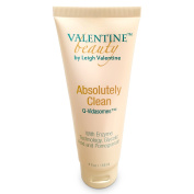 Leigh Valentine Glycolic Acid Exfoliating Cleanser Anti-Ageing Acne Face Wash Absolutely Clean with Q-Vidasomes