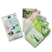 Earth Therapeutics 5 pack Essential Beauty Face Masks, Variety Pack