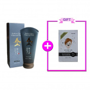 Nesura Perfect Clear Charcoal Pack +Nesura Charcoal Pore Strips Black Head Remover 1 piece
