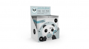 Oh K! Panda Face Fibre Face Mask Set of 3 Masks