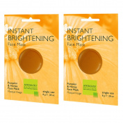 Andalou Instant Brightening Face Mask with Pumpkin and Sugar Cane Extract, .830ml