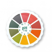 AlkalineCare - 5M pH Paper Roll Litmus Test Paper Strip Roll High Precision PH indicator strips to measure the pH of saliva or urine, cheque levels of acidity alkalinity in our body Alkaline Care