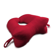 DogBones 68701 Collarbone Chiropractic Pillow by Original Bones, Red, Regular