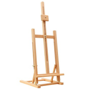 SHECAI Marquis Artists Beech Wood Easels 100cm - 1.3cm Tall Tabletop Adjustable H-Frame Studio Easels