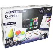 Art Instructor Drawing Travel Set-Large - 38Pc