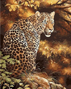 No Frame Cheetah Animals Diy Painting By Numbers Kits Paint On Canvas Acrylic Colouring Painitng By Numbers For Home Wall Decor
