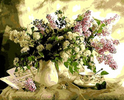 Framless Unique Gift Digital Oil Painting On Canvas Painting By Numbers Cuadros Decorative Picture 4050Cm - Flowers